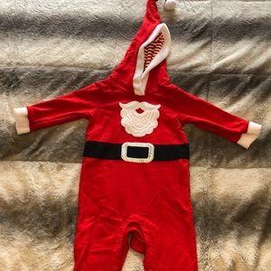 The cutest ever Santa suit onesie!